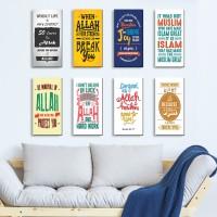 jual dekorasi ruangan rumah hiasan dinding islami quotes 2