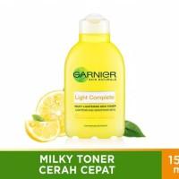 Garnier Light Complete Milky Toner Tone Up Skin Care - 150 ml
