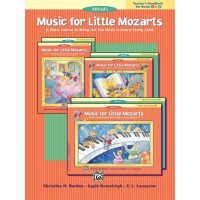 Teacher's Handbook for Books 1 & 2 Music for Little Mozarts Alfred
