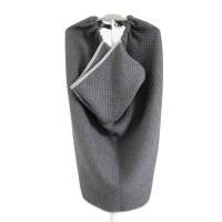 Maison Elmesa Baby Blanket Selimut Bayi On The Go Dark Grey Texture