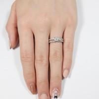 Cincin berlian Clover - Ivana Jewellery