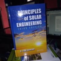 Principles of solar engineering 3rd third edition by yogi goswami 3th