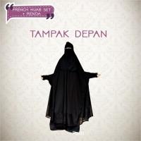 Jual French Hijab Renda Warna Set French Khimar Warna Set Wolfis Meovis Kota Bandung Meovis Tokopedia