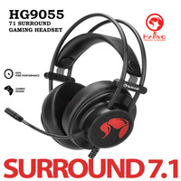Headset Gaming Marvo HG9055 - 7.1 Surround 7 Color (RGB)