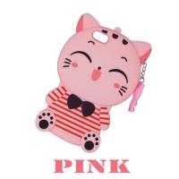 Xaomi Redmi Note 7 Silicone Motif Kucing Neko Soft Case