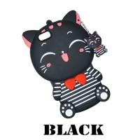 Xaomi Redmi Note 6 Pro Silicone Motif Kucing Neko Soft Case