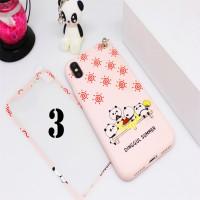 Apple iPhone 7+ 8+ 7 Plus 8 Plus Character Motif 360 Soft Case