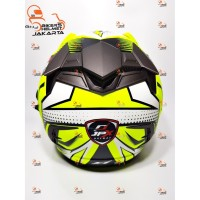 Helm Full Face Motor Cross MDS Super Pro Supermoto Double