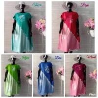 Dress Bali Jersey New Motif Bulat