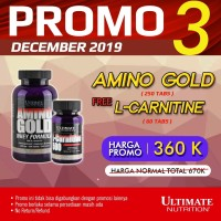 Amino Gold, 250 Tabs - Ultimate Nutrition Official