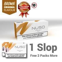 NUSO 1 SLOP / CARTON BROWN RASA ORIGINAL