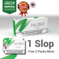 NUSO 1 SLOP / CARTON GREEN RASA MENTHOL