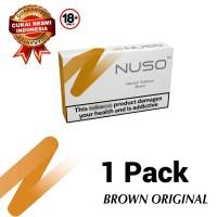 NUSO 1 PACKS BROWN RASA ORIGINAL