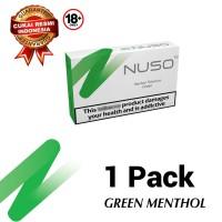NUSO 1 PACKS GREEN RASA MENTHOL