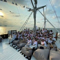 SUNSET sailing Group Kecil Private(16:00~19:00)