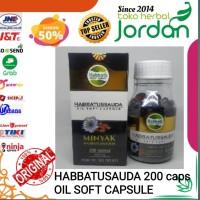 Habbatusauda softgel 200kpl Habbatusauda oil soft capsule Jintan hitam