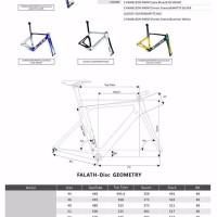 Jual Frame Sepeda Carbon Road Bike Elves Falath Disc