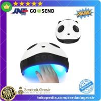 Pengering Kutek Kuku UV LED Nail Dryer Model Bentuk Panda Design thumbnail