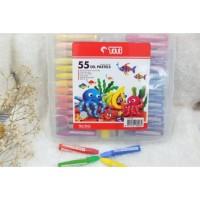 Crayon TITI Oil Pastel 55 Warna