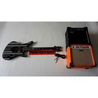 Paketan Gitar Schecter Synyter Gates & Ampli Orange/Laney 8 Inch