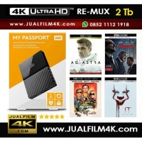 WD My Passport 2 TB (Garansi) + Film 4K UHD HDR Blu-ray Remux