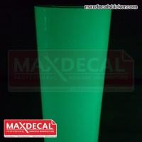 MAX DECAL Fosfor Pospor Luminous Sticker GLOW IN DARK 124 cm Meteran