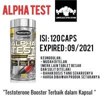 ALPHA TEST ALPHATEST 120 KAPSUL CAPS MUSCLETECH TEST TESTO BOOSTER
