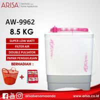 ARISA AW-9962 Mesin Cuci Pink