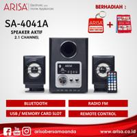 ARISA SA-4041A Portable Speaker Silver