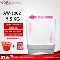 ARISA AW-1062 Mesin Cuci Pink