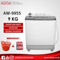 ARISA AW-9955 Mesin Cuci Black