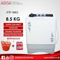 ARISA AW-9962 Mesin Cuci Black