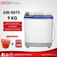 ARISA AW-9975 Mesin Cuci Blue