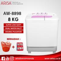 ARISA AW-8898 Mesin Cuci Pink