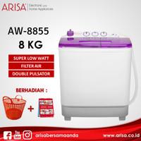 ARISA AW-8855 Mesin Cuci Purple