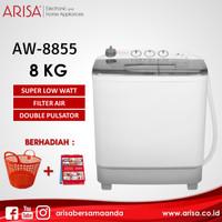 ARISA AW-8855 Mesin Cuci Black
