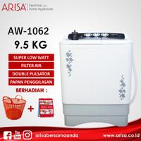 ARISA AW-1062 Mesin Cuci Black