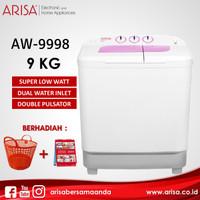 ARISA AW-9998 Mesin Cuci Pink
