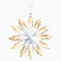 Swarovski Dekorasi Pohon Natal Bintang Gold Emas Crystal Kristal