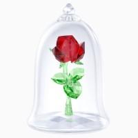 Swarovski Crystal Beauty and the Beast Rose