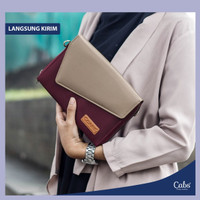 Cabs Grace Handbag Clutch Tas Tangan Wanita Long Champ Multifungsi