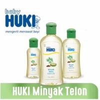 huki baby minyak telon 125ml huki telon bayi / huki baby