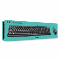 Keyboard Mouse Logitech MK120