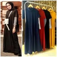 Maxi dress muslimah | dress sabyan