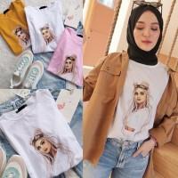 t-shirt Ringer | kaos wanita