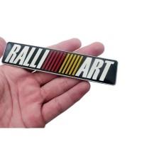 Emblem Mitsubishi RalliArt Alumunium