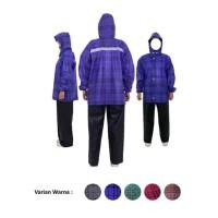 Jas Hujan Setelan atas bawah jaket dan celana RUSH 811