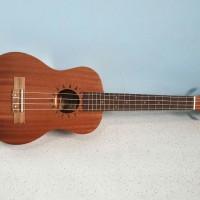 ukulele tenor cowboy original UK 25 inch ukir coklat tua murah jakarta