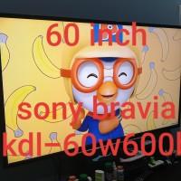 """Smart TV sony bravia 60 inch 60"""" kdl-60w600b kdl60w600b"""