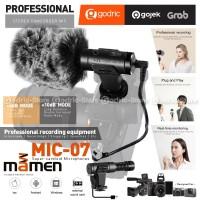 MAMEN MIC-07 SHOTGUN MIC Vlogging Microphone VLOG CAMERA MIRRORLESS HP